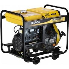 Дизельная электростанция с электрозапуском Kipor KDE6500E